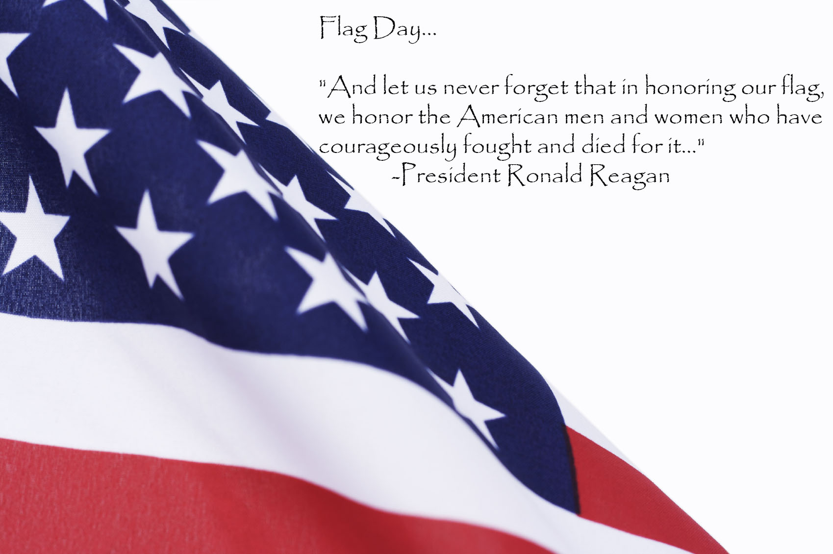 the meaning of the american flag to me There is no official flag-folding ceremony and there is no official meaning to each of the folds the american flag has been the symbol of our nation's unity.