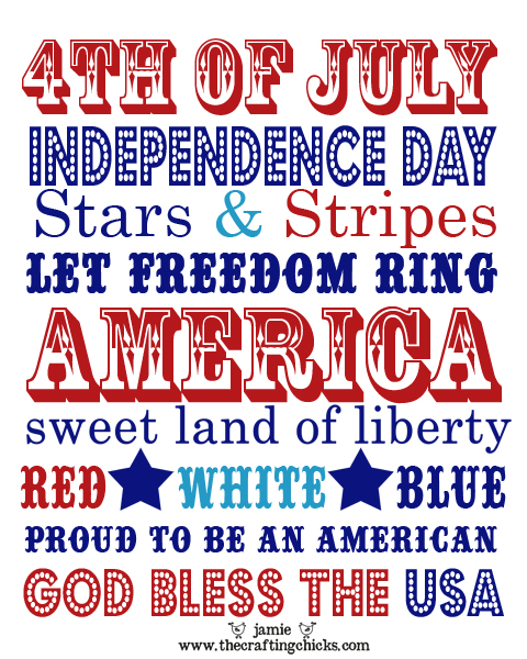 The real meaning of the fourth of july the crafty lady for What does the 4th of july mean