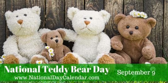 national-teddy-bear-day-september-9