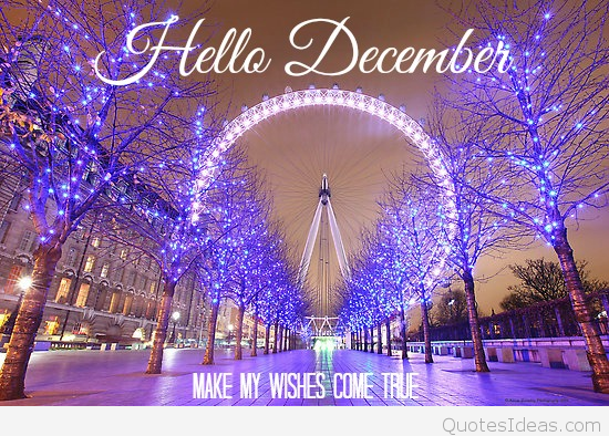 amazing-hello-december-quote